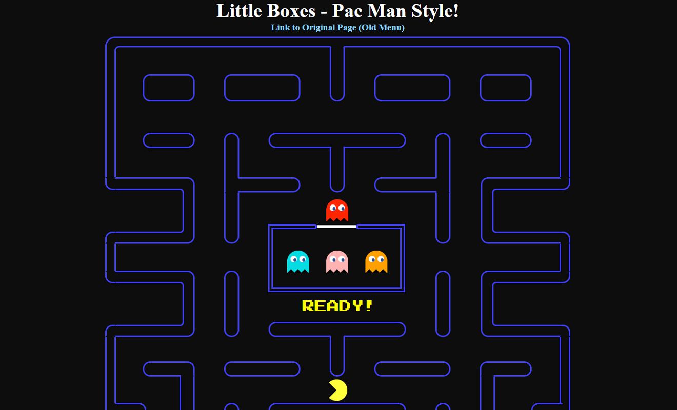 Little Boxes Pacman Screenshot